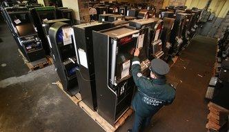 W niecały miesiąc skarbówka zajęła ponad 3 tys. automatów do gier