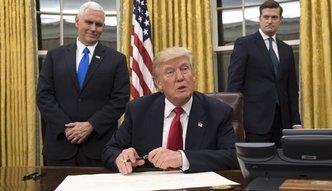 Donald Trump spełnia obietnicę z kampanii. Dekret w sprawie Obamacare podpisany