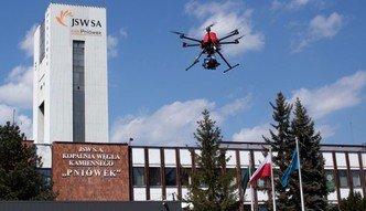 Drony w polskich kopalniach. Jastrzębska Spółka Węglowa testuje bezzałogowce