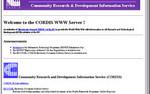 20 lat serwisu CORDIS w sieci WWW