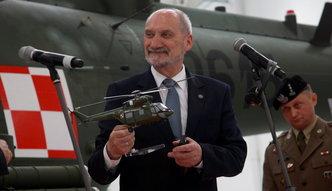 Macierewicz nie chce ujawnić szczegółów przetargu na śmigłowce. Opozycja zarzuca mu uleganie lobbystom