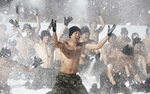 Korea�scy specjalsi na �niegu. To nie ferie