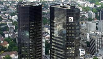 Amerykanie chc� 14 mld dolar�w od Deutsche Banku. Akcje ostro w d�