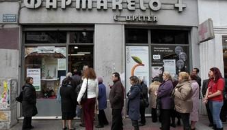 W Grecji brakuje lek�w, wkr�tce zabraknie �ywno�ci. Bez pomocy Europy, gospodarka si� udusi
