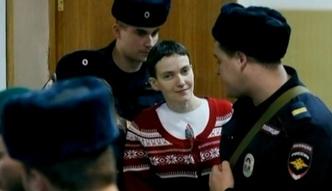 Ukraina nak�ada nowe sankcje na Rosj�. Pow�d: skazanie Sawczenko