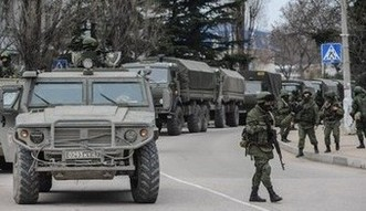 Wojna na Ukrainie wci�� trwa. Tatarzy zapowiadaj� gospodarcz� blokad� Krymu
