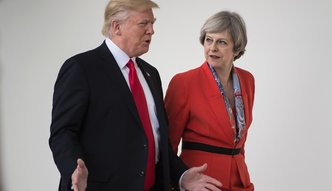 """""""Brexit będzie wartością, a nie obciążeniem"""". Trump spotkał się z May"""