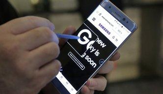 Wybuchaj�cy telefon odbi� si� na zyskach Samsunga. Sp�ka zarobi�a o 30 proc. mniej