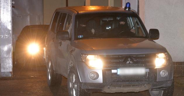 Policjanci wywo�� </br>zamaskowanego m�czyzn� </br>z Zak�adu Karnego w Rzeszowie-Za��u</br>