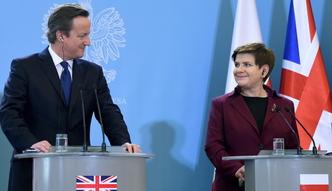 """Spotkanie Szyd�o - Cameron. """"W wielu kwestiach mamy zbie�ny punkt widzenia"""""""