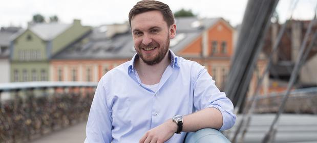 Prezes i założyciel Brainly Michał Borkowski