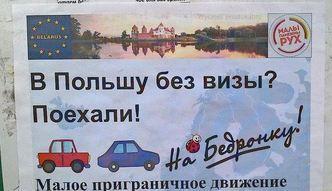 "Bia�orusini ""Na Biedronk�""! Zaskakuj�ca akcja"