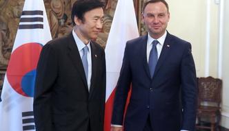 Stosunki Polska-Korea Po�udniowa. Duda spotka� si� z szefem dyplomacji
