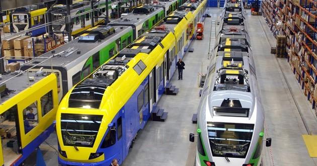 Stadler Rail, fabryka w Siedlcach