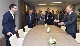 Kryzys w Grecji. Tusk na szczycie strefy euro: wszystkie karty na st�