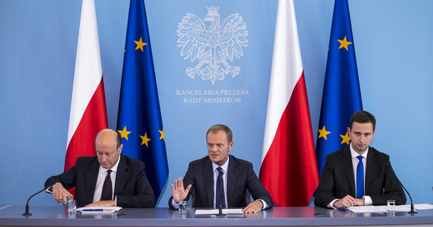 Jacek Rostowski, Donald Tusk i W�adys�aw Kosiniak-Kamysz</br> - to oni odpowiadaj� za reform� systemu emerytalnego</br>