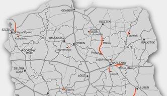 Budowa dróg w Polsce. Money.pl ma pełną listę