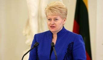 Igrzyska olimpijskie w Soczi. Prezydent Litwy zapowiedzia�a bojkot