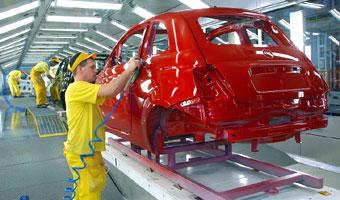 Tyska fabryka Fiata znów działa