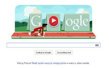 Londyn 2012. Bieg przez p�otki, czyli interaktywna gra Google