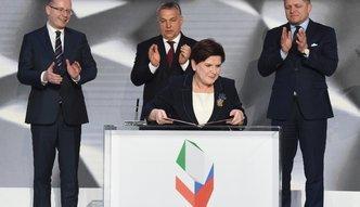 """""""V4 nowym silnikiem Europy"""". Kraje Grupy Wyszehradzkiej podpisały Deklarację Warszawską"""