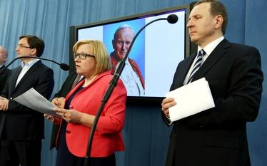 Kanonizacja Jana Paw�a II. Solidarna Polska chce, by by� to dzie� wolny od pracy
