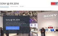 Konferencja Sony na IFA - online - środa 3.09.2014 godzina 16:15