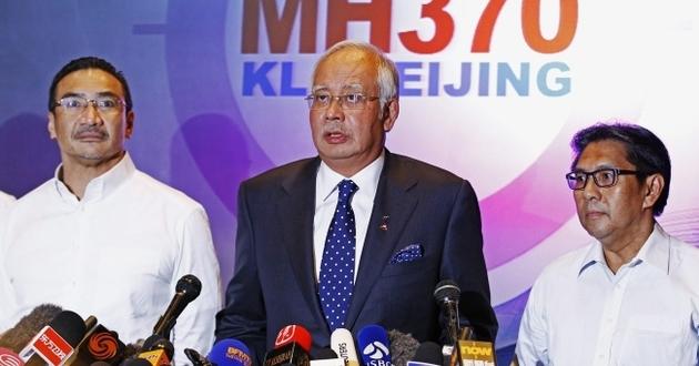 konferencja prasowa na temat zagini�cia malezyjskiego samolotu