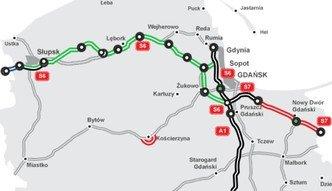 Powstaną tylko 42 km trasy S6. Wiceminister: ograniczone fundusze