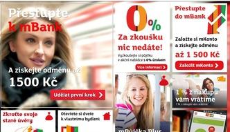 mBank �wi�tuje sukces w Czechach i na S�owacji
