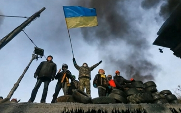 Ukraina: Szkolenie bojowe dla Samoobrony Majdanu