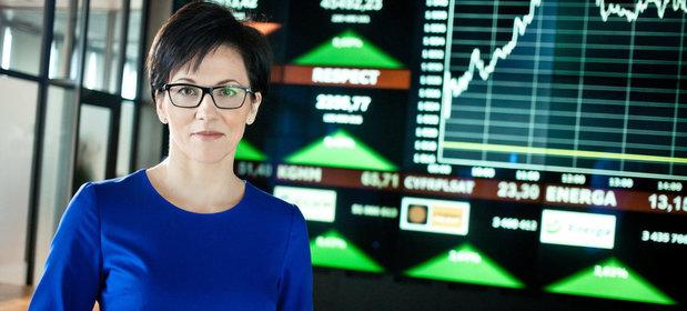 Małgorzata Zaleska, prezes GPW
