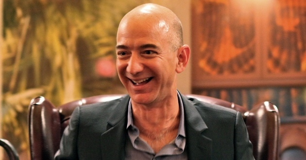 Jeff Bezos, za�o�yciel Amazona.