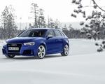Audi RS3 Sportback w zimowej scenerii