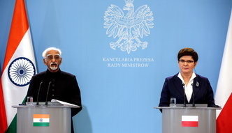 Polskie firmy ruszą na podbój Azji? Szydło spotkała się z wiceprezydentem Indii