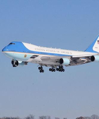 Bruksela nałoży karę na Air Force One? Prezydent USA musiałby sporo zapłacić za samolot
