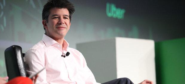 Travis Kalanick, prezes Ubera.