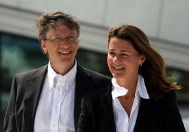 Bill Gates z �on� Melind�