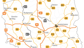 Mapa budowy dr�g. Te autostrady i ekspres�wki powstan� do 2025 roku