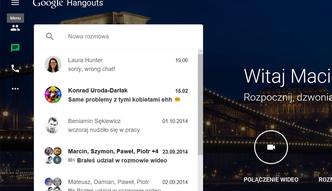 Hangouts odczepia si� od Google+