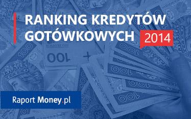 Ranking kredytów gotówkowych 2014