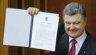 Reformy na Ukrainie przyspiesz�. Prezydent sk�ada obietnic� w trosce o pieni�dze z Zachodu