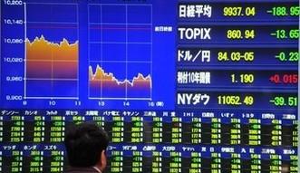 Dobre dane wywo�a�y mocne wzrosty na gie�dzie w Japonii
