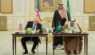 Nie 110 a 350 mld dolarów. Trump podpisał niesamowity kontrakt z Saudami