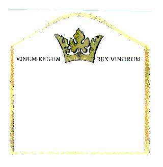 Logo  VINUM REGUM REX VINORUM, znak towarowy