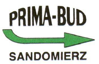 Logo  PRIMA-BUD SANDOMIERZ, znak towarowy