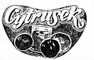 Logo  CYTRUSEK, znak towarowy