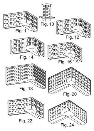 Osłona przeciwwiatrowa klapy oddymiającej lub komina spalinowego