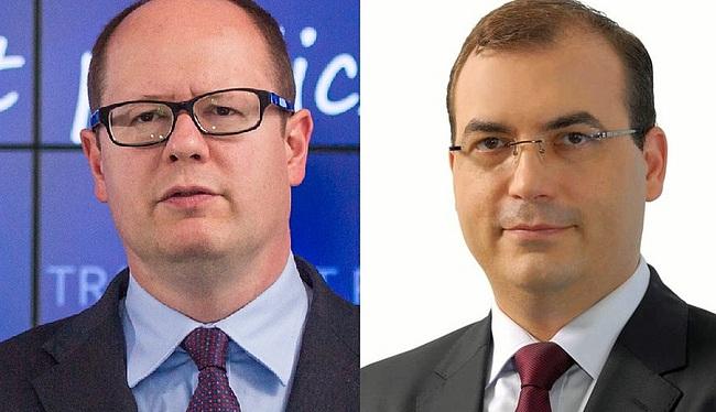 Paweł Adamowicz i Andrzej Jaworski