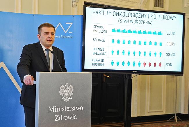 Minister Zdrowia zarzuca lekarzom z Pozrozumienia Zielonogórskiego igranie życiem pacjentów.